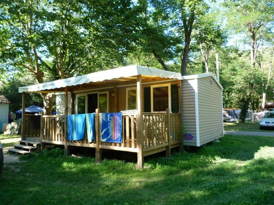 Cottage au sein du camping 3 étoiles Les Plans