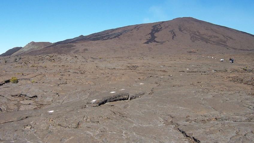 Sur la trace des volcans de l'île de La Réunion