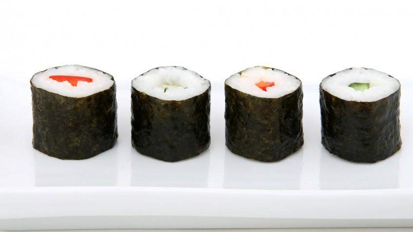 Les sushis faciles avec le kit sushi Tanoshi