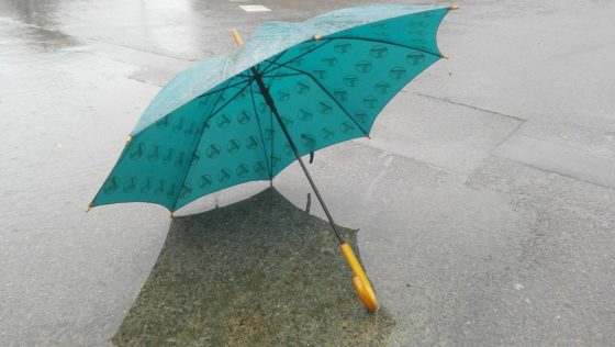 Le parapluie canne, l'accessoire tendance