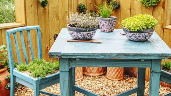 Optez pour un mobilier de jardin en bois